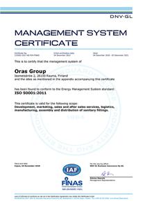 ORAS_ISO_50001_2011